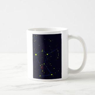 Caneca De Café Constelação de Orion