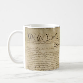 Caneca De Café Constituição de Estados Unidos