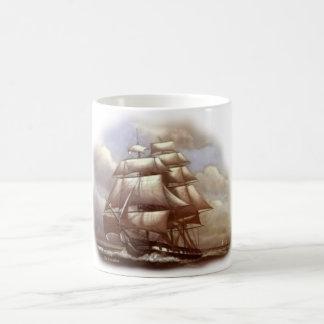 """Caneca De Café """"Constituição de USS do Ironsides idoso"""" da"""