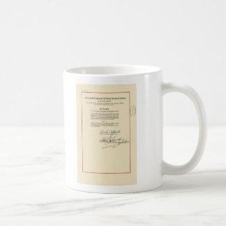 Caneca De Café Constituição dos E.U. da alteração do ORIGINAL 26a