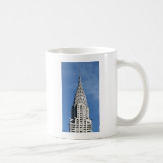Caneca De Café Construção de prata de Chrysler