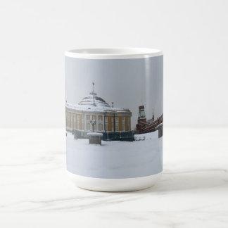 Caneca De Café Construção do Senado do russo