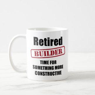 Caneca De Café Construtor aposentado
