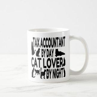 Caneca De Café Contador do imposto do amante do gato