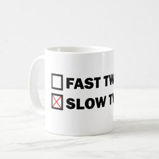 Caneca De Café Contração muscular lenta