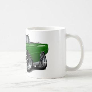 Caneca De Café Convertible 1966 verde do Coronet