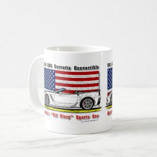 Caneca de café convertível de 2017 Z06 Corveta