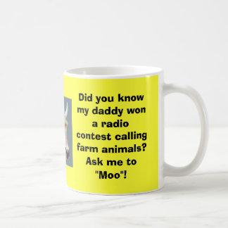 Caneca De Café Convide-me ao MOO