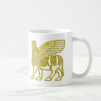 Caneca De Café copo assyrian do touro