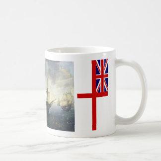 Caneca De Café Copo britânico da capitânia