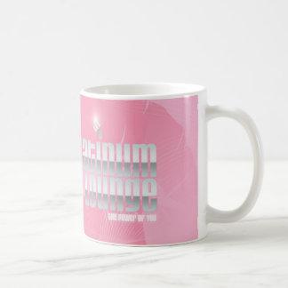 Caneca De Café COPO cor-de-rosa do beijo