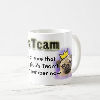 Caneca De Café Copo da equipe de PugTub