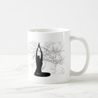 Caneca De Café Copo da manhã da meditação