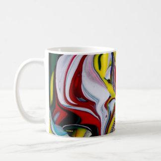 Caneca De Café Copo de café colorido
