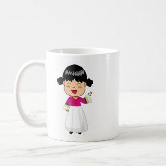 Caneca De Café Copo de café com coreano Chibi por Mahieu