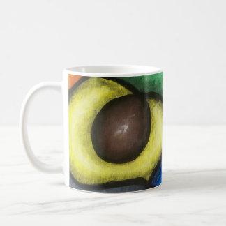 Caneca De Café Copo de café com trabalho abstrato