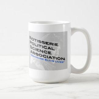 Caneca De Café Copo de café da ciência política do Rotisserie