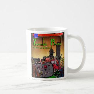 Caneca De Café Copo de café da estrada do zombi