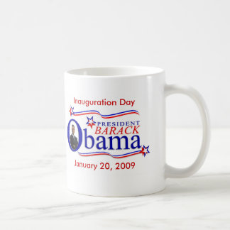 Caneca De Café Copo de café da lembrança da inauguração de Obama