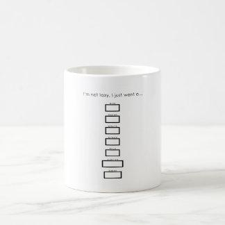 Caneca De Café Copo de café da ordem feita sob encomenda