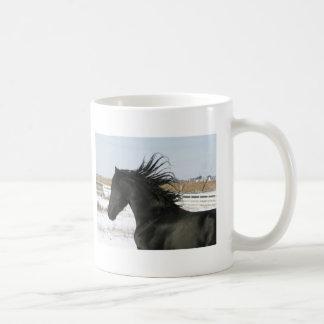 Caneca De Café Copo de café do cavalo do frisão