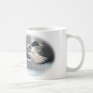Caneca De Café Copo de café do pato selvagem da caça do pato