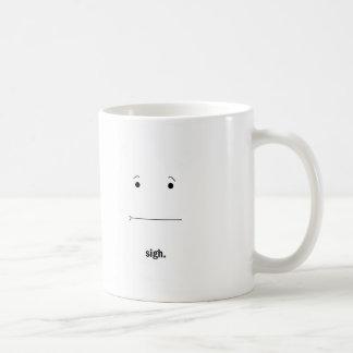 Caneca De Café Copo de café do *Sigh*