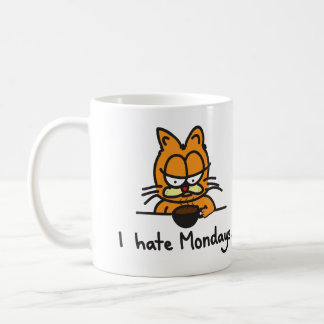 Caneca De Café Copo de café mal-humorado do gato