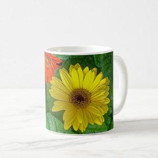 Caneca De Café copo de café Multi-colorido do wildflower