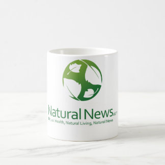 Caneca De Café Copo de café natural do logotipo da notícia