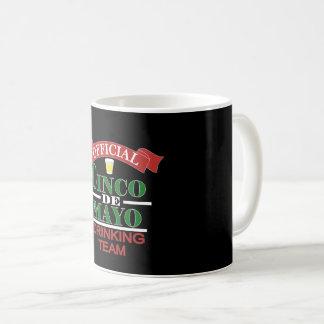 Caneca De Café Copo de café oficial do bebendo de Cinco De Mayo