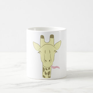 Caneca De Café Copo de café Sassy do girafa