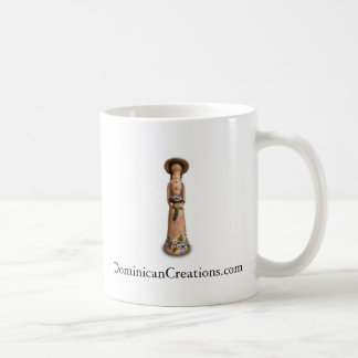 Caneca De Café Copo de café sem cara da boneca