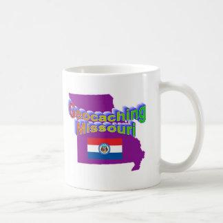 Caneca De Café Copo de Geocaching Missouri