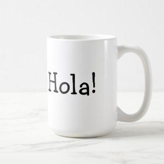 Caneca De Café Copo de Hola