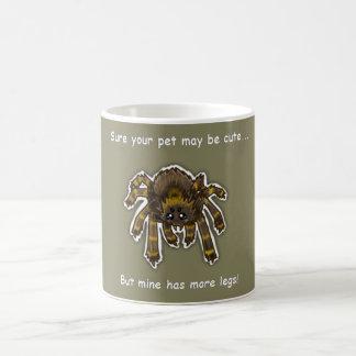 Caneca De Café copo do amante da aranha