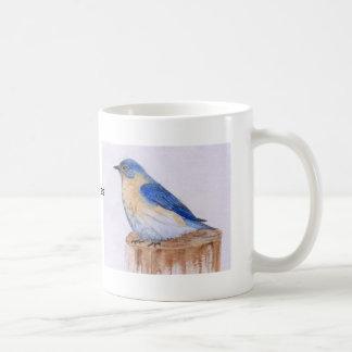 Caneca De Café Copo do Bluebird da felicidade