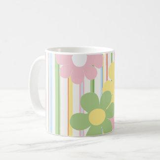 """Caneca De Café Copo do """"floral """" do Sippy da mamã piquenique da"""