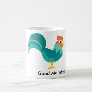 Caneca De Café Copo do galo do bom dia