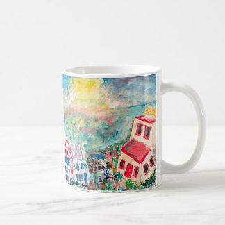Caneca De Café Copo do por do sol de Mykonos