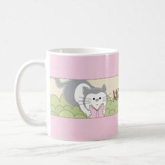 """Caneca De Café Copo do Sippy do """"da mamã clássica da coruja rosa"""