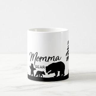 Caneca De Café Copo do urso de Momma