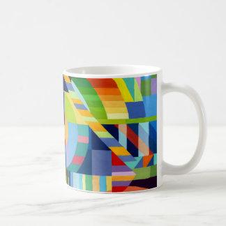 Caneca De Café Copo pintura com cores de água
