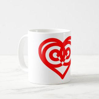 Caneca De Café Coração