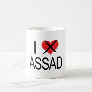 Caneca De Café CORAÇÃO Assad-01 do ÓDIO