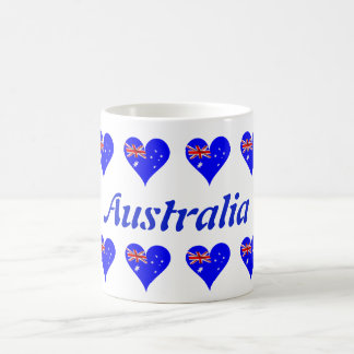 Caneca De Café Coração australiano