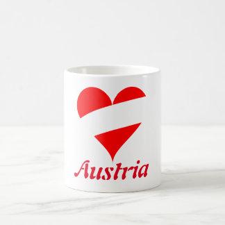 Caneca De Café Coração austríaco
