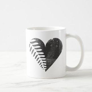 Caneca De Café Coração da samambaia