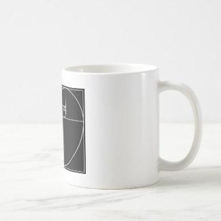 Caneca De Café Coração de Fibonacci