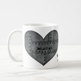 Caneca De Café Coração de Steampunk para amantes